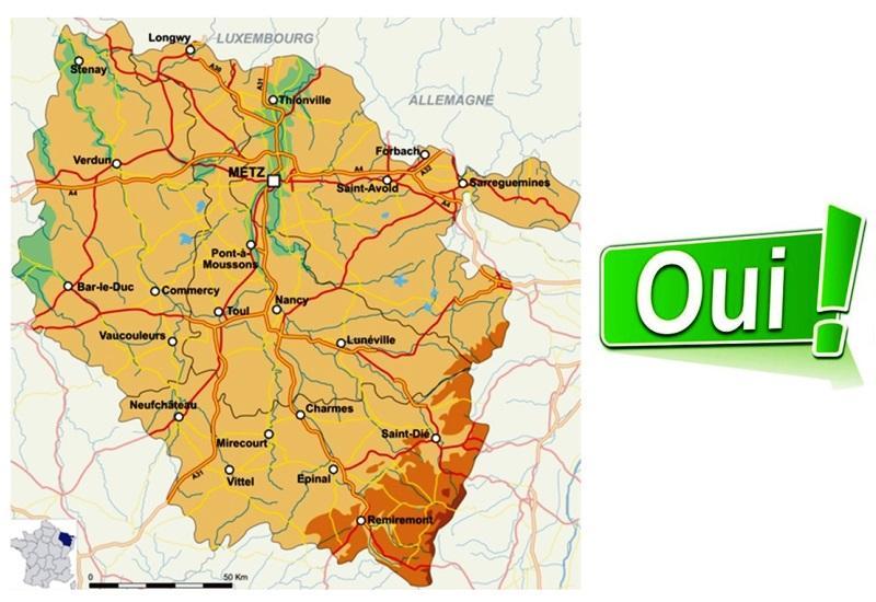 Region Lorraine oui